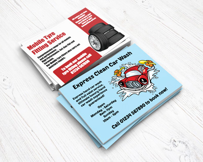 automotive flyers
