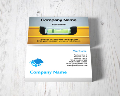 builders business cards