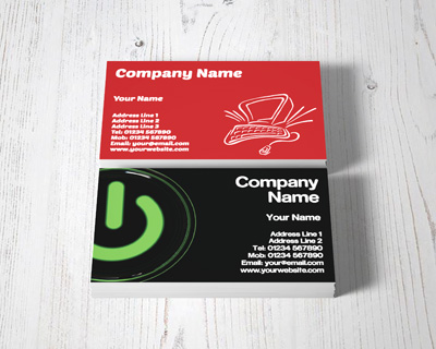 computing business cards
