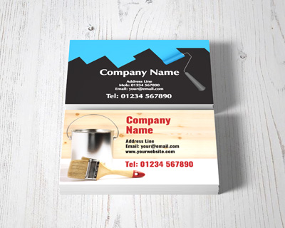 decorators business cards