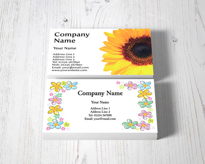 florist business cards