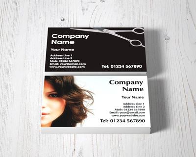 hairdresser business cards