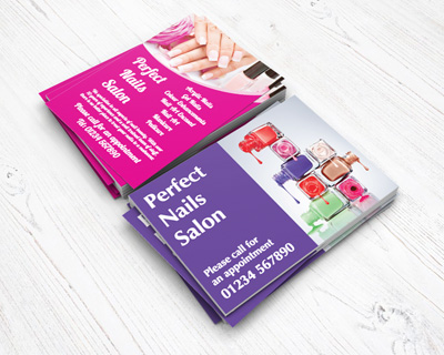 health and beauty flyers