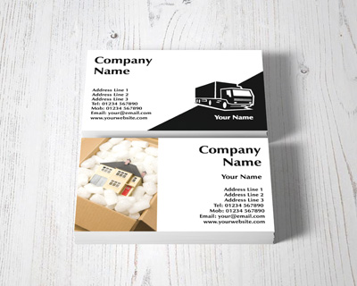 removal business cards