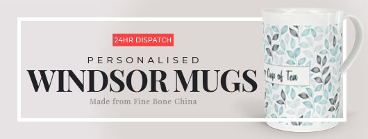 Personalised Windsor Mugs