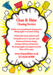 cleaning cloud burst leaflets