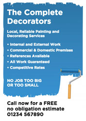 roller painting leaflets
