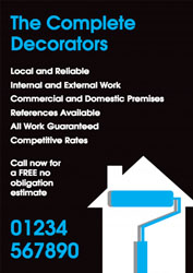 house decorating leaflets