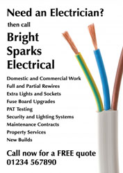 electrical wires leaflets