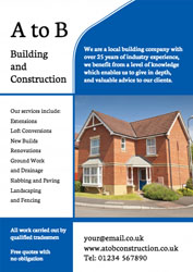 new house leaflets