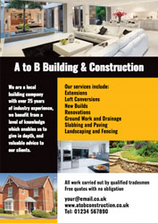 home extension leaflets