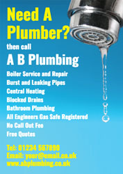 need a plumber leaflets