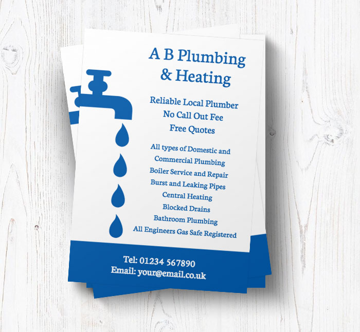 dripping tap leaflets