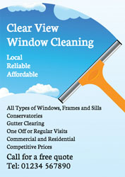 window squeegee leaflets