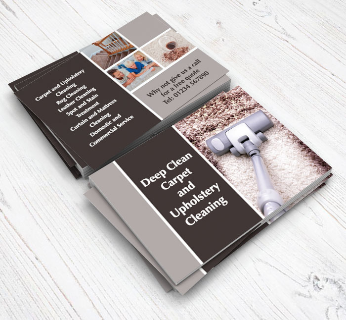 Carpet Cleaning Flyers | Customise Online Plus Free Delivery | Putty ...