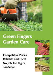 green fingers flyers
