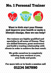 health icons flyers
