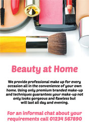 mobile makeup flyers