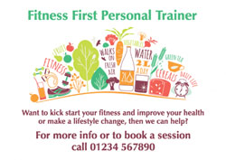 fitness trainer flyers