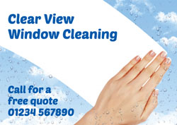 window and gutter cleaning flyers
