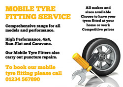 tyre and spanner flyers