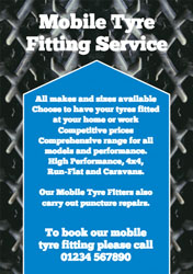 mobile tyre fitting flyers