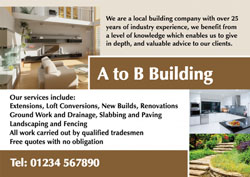 home renovation flyers