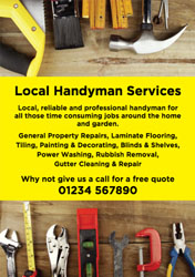 property repair flyers