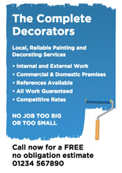 Decorator Flyers with FREE Delivery | Putty Print