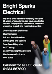 electrical cable flyers