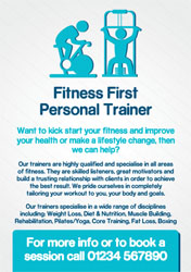 fitness instructor flyers