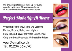 makeover flyers