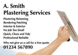 plastering arm flyers