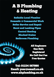 gas fitter flyers