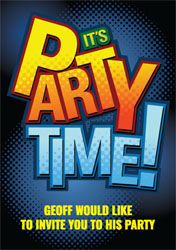 its party time party invitations
