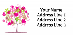 tree address labels
