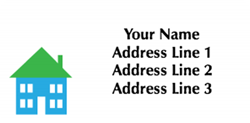 monopoly house address labels
