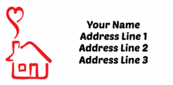 heart house address labels