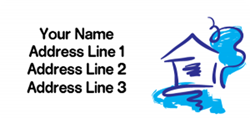 marker pen address labels