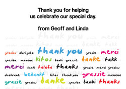 multilingual thank you cards