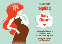 mum to be baby shower invitations
