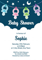 dummies baby shower invitations