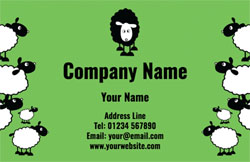 black sheep business cards