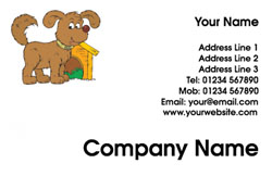dog and kennel business cards