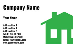 green house business cards