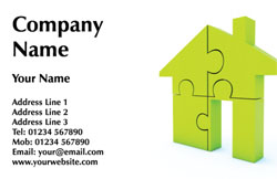 jigsaw house business cards