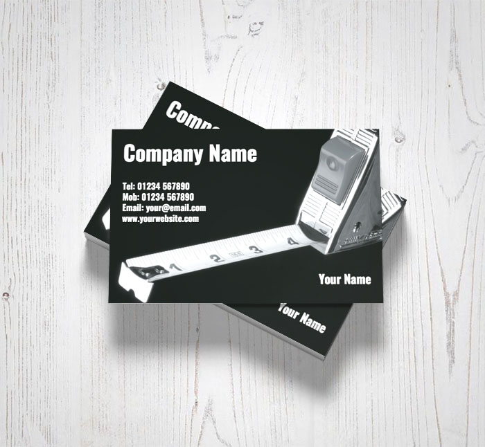 Tape measure business cards customise online plus free delivery tape measure business cards reheart Image collections