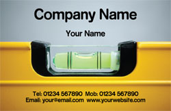 spirit level business cards