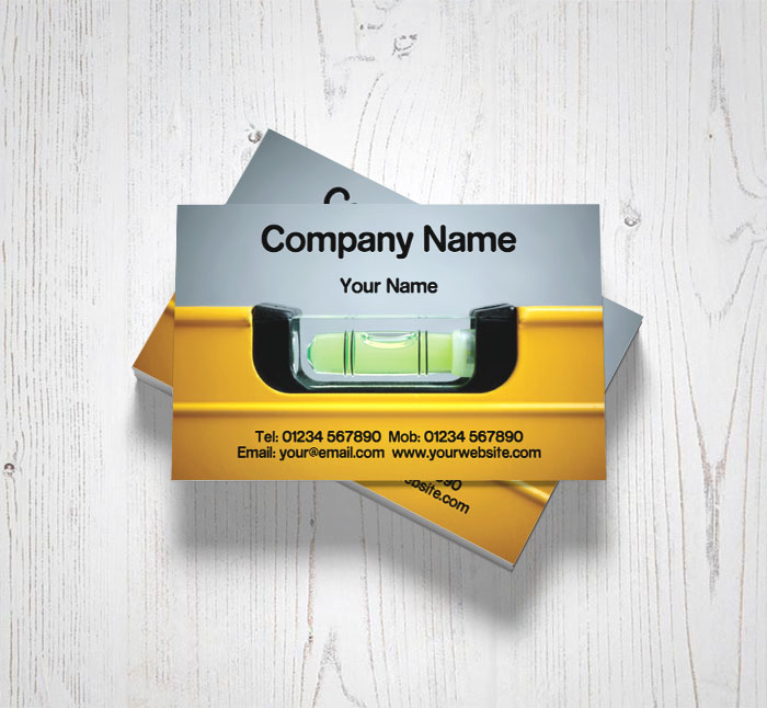 Spirit level business cards customise online plus free delivery spirit level business cards reheart Image collections
