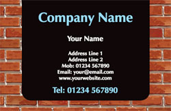 house bricks business cards